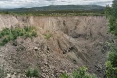 Kaptensgruvan, juli 1995