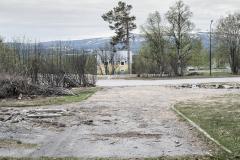 Kaptensvägen Malmberget, maj 2019
